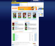 Blockbuster Home Page